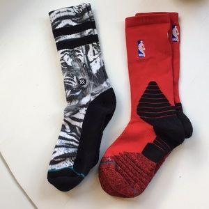 Stance Socks White Tiger & NBA
